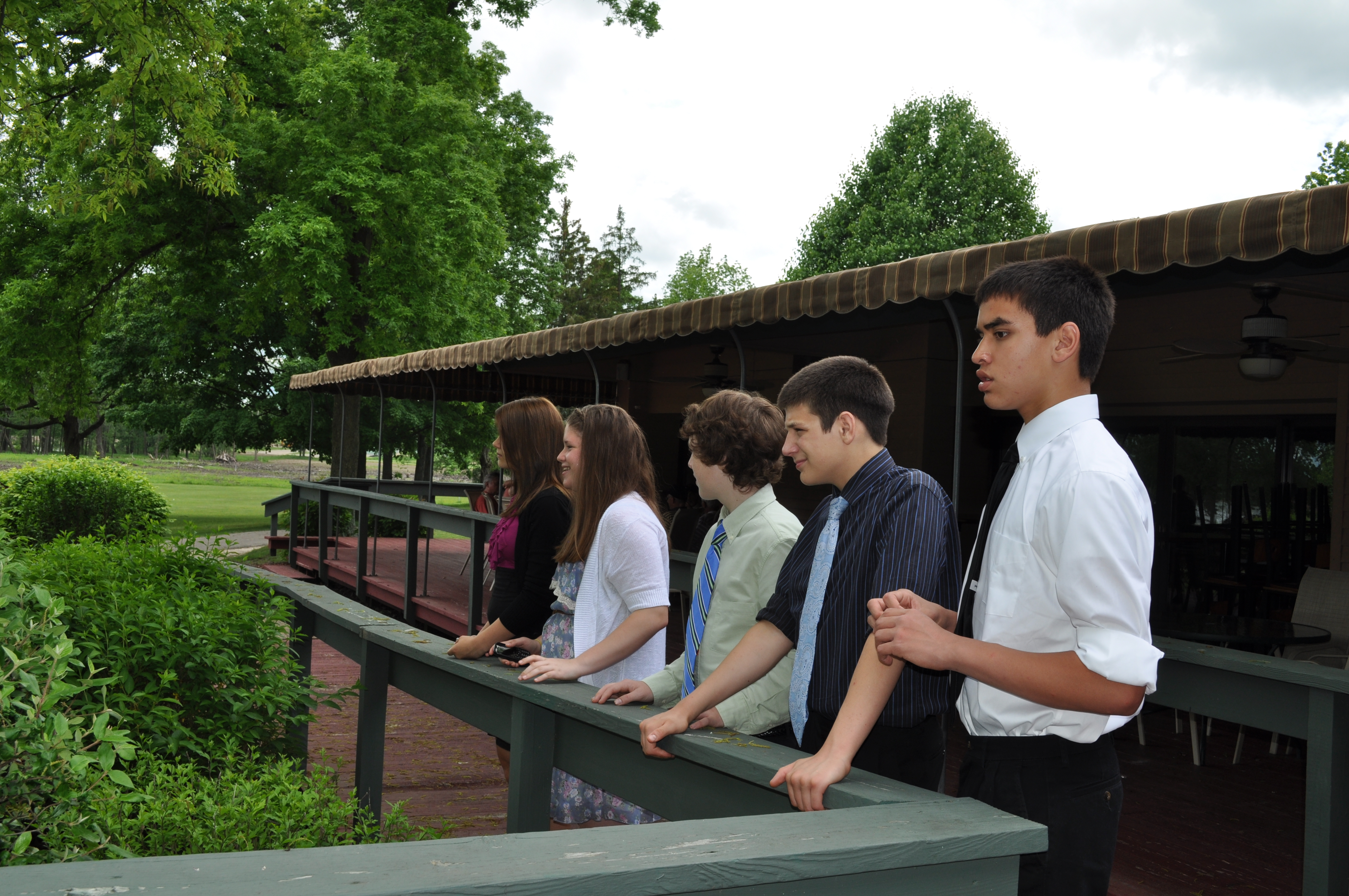 Teen's from FCFC's Ardent Youth group