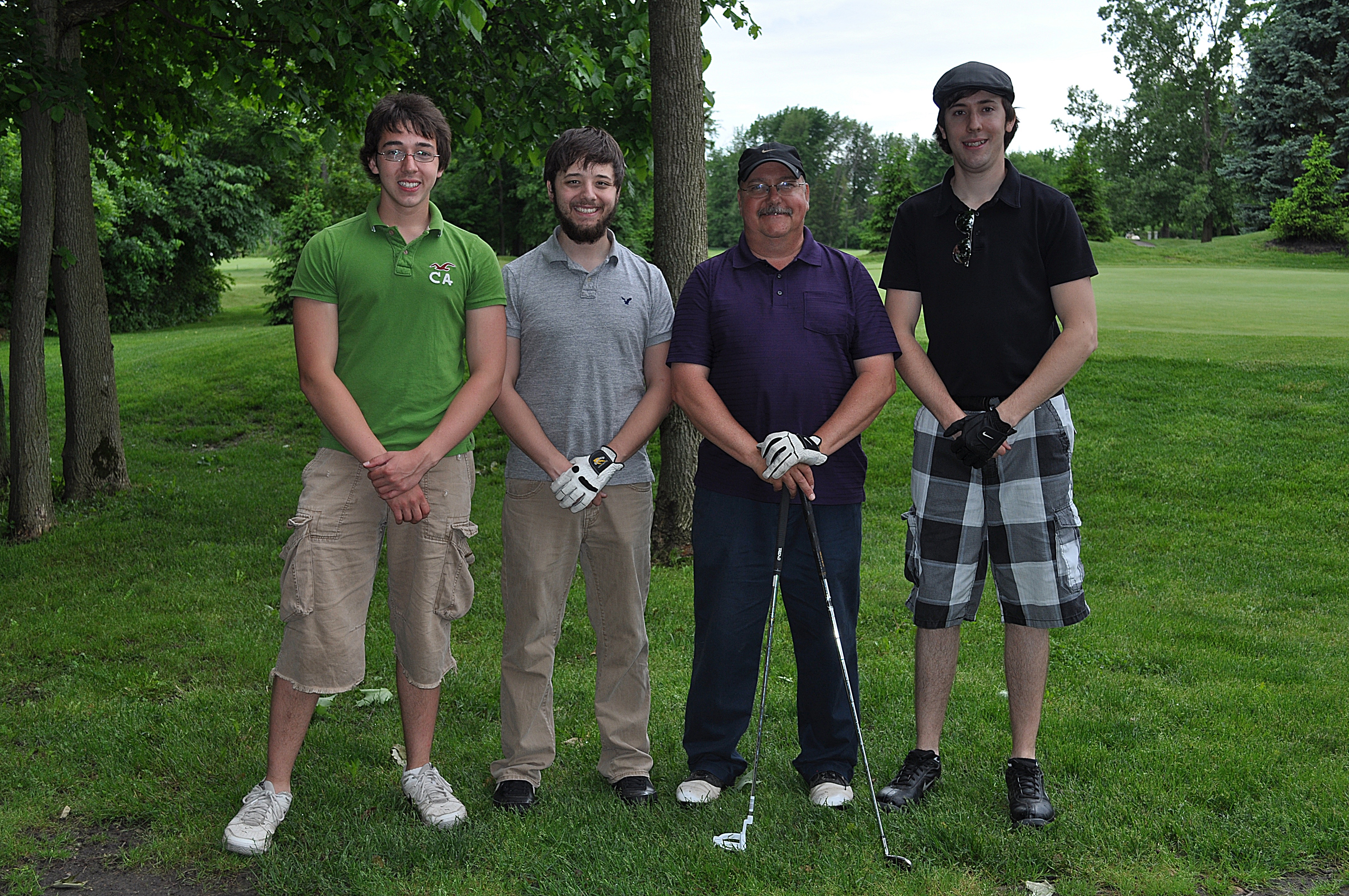 Pastor Larry's Team at the 2013 FCFC Outing