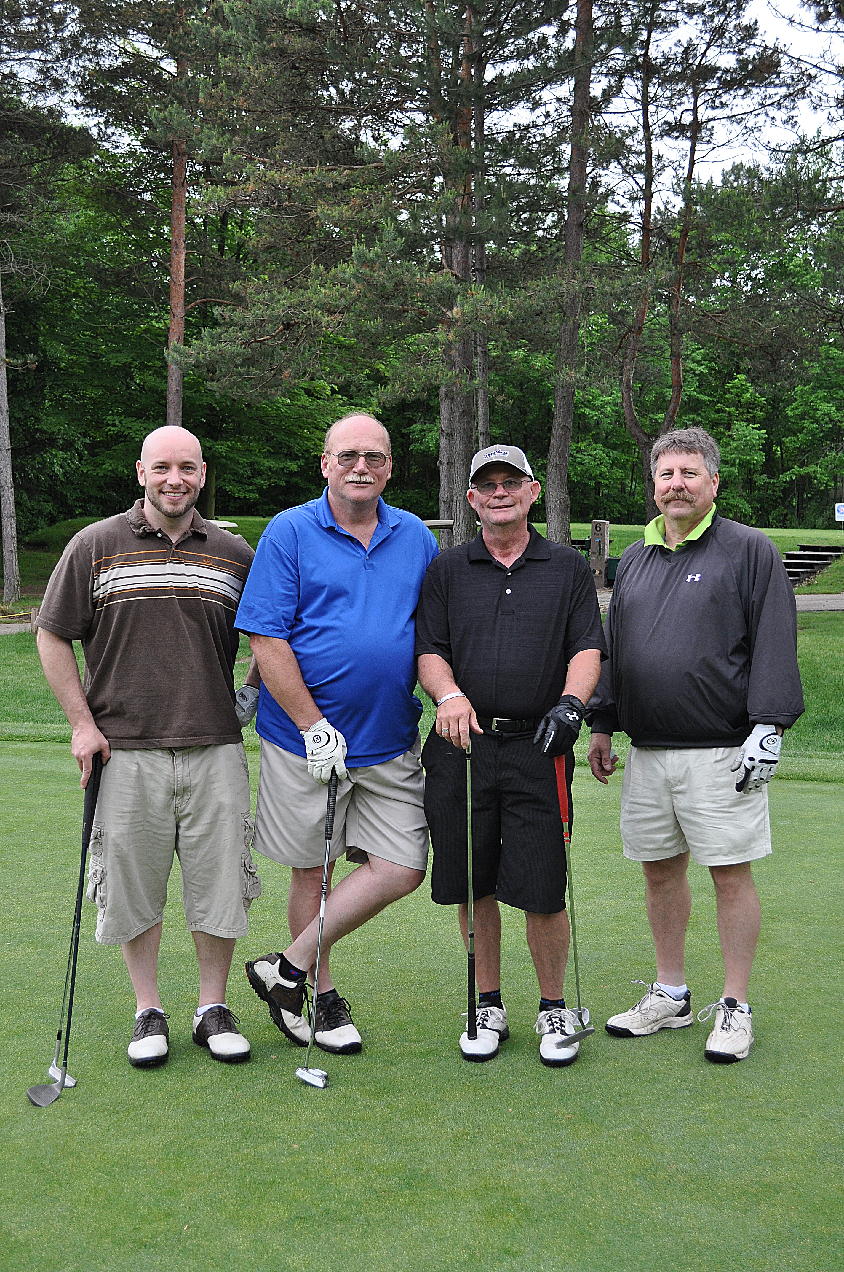 Harold Green's team at the 2013 FCFC Outing