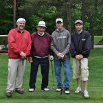 John Good poses with his team at the 2013 FCFC Outing
