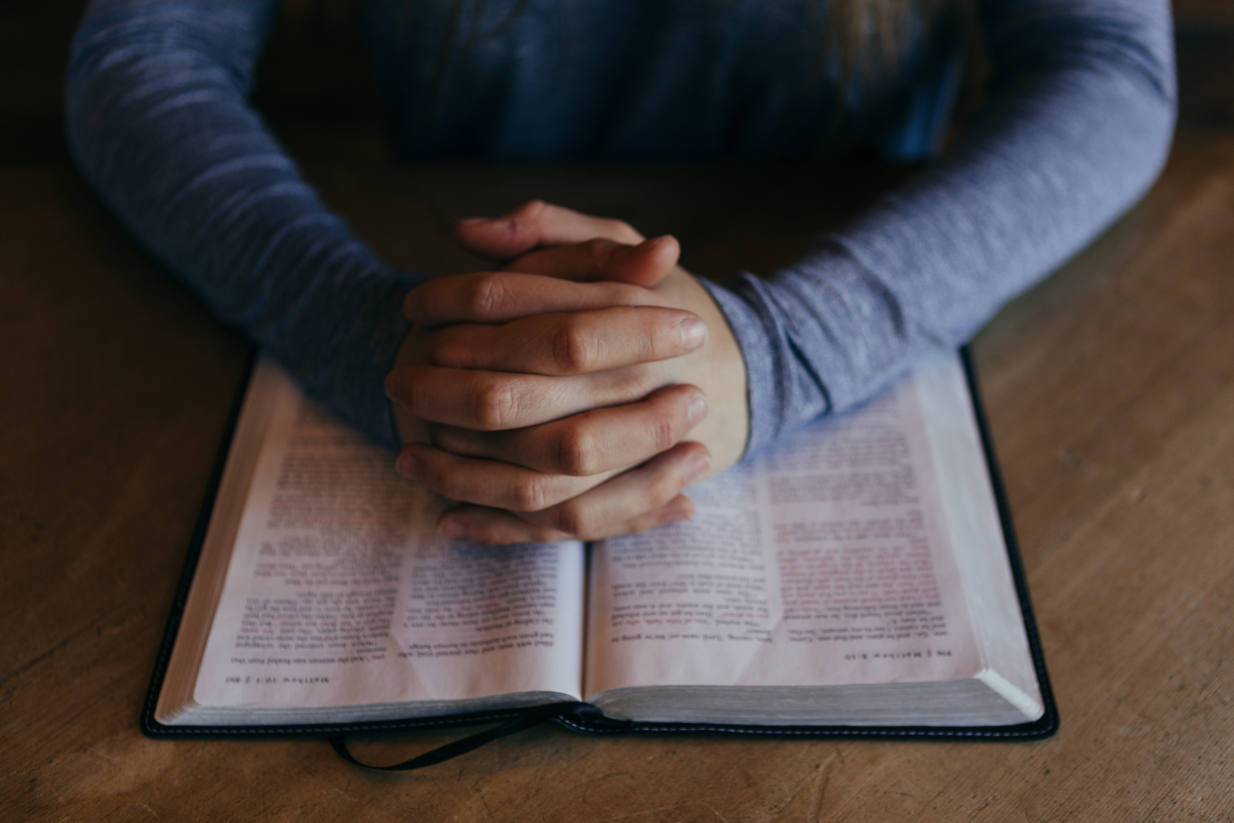 Stay in Prayer and in the Word